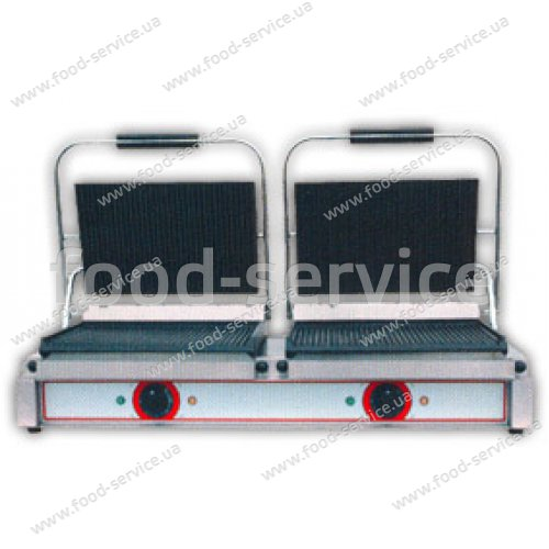 Гриль-тостер контактный Beckers RM2 (ребро/ребро)