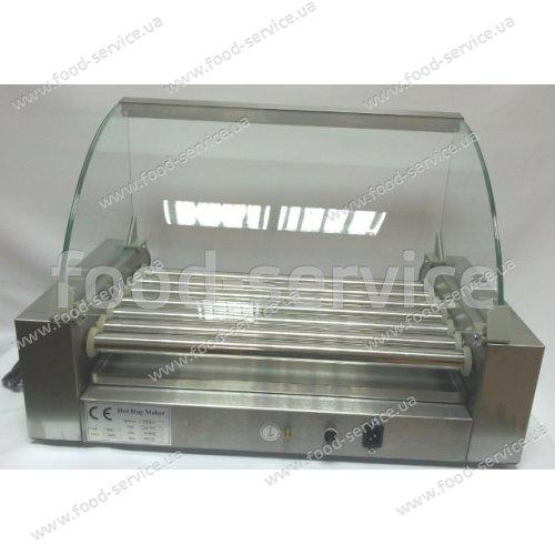 Роликовый гриль для сосисок RollGrill ET-R2-7 со стеклом