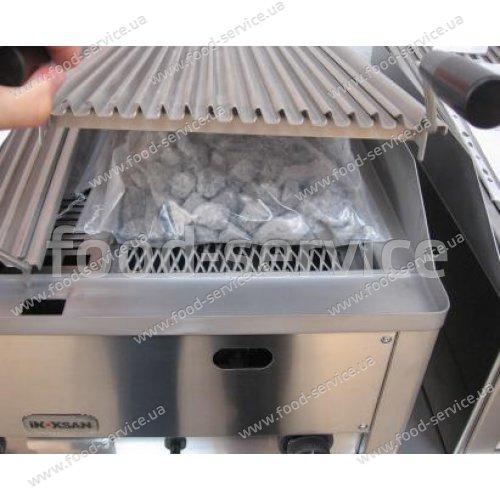 Гриль газовый лавовый двойной Inoksan  6LG-660