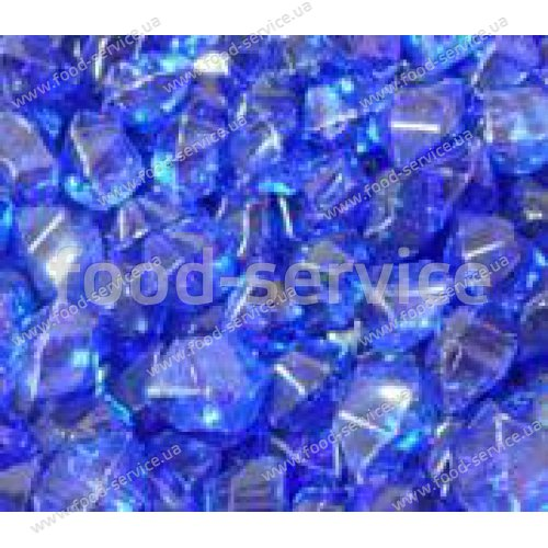Огнеупорные стеклышки Синие прозрачные