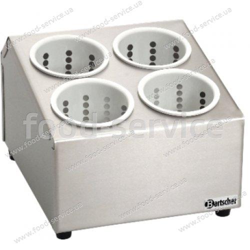 Контейнер для столовых приборов  со стаканами Bartscher A500395