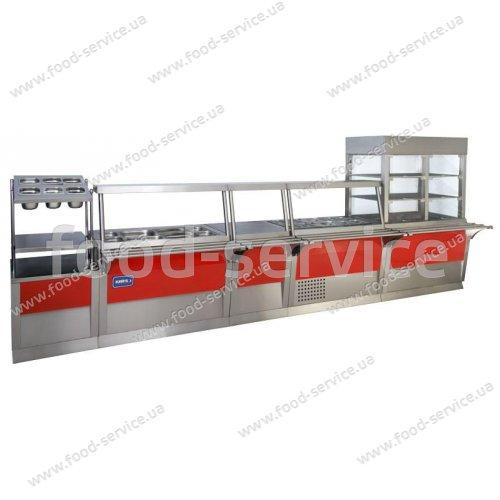 Прилавок для столовых приборов ПСП-600 Эксклюзив
