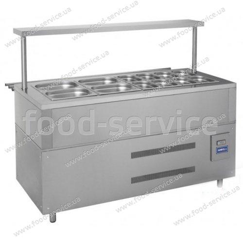 Прилавок холодильный на 12 гастроемкостей  ПХ-1500