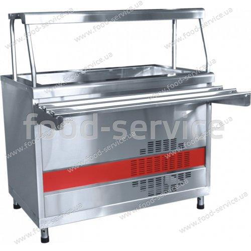 Прилавок холодильный ПВВ(Н)70КМ-02НШ линия АСТА