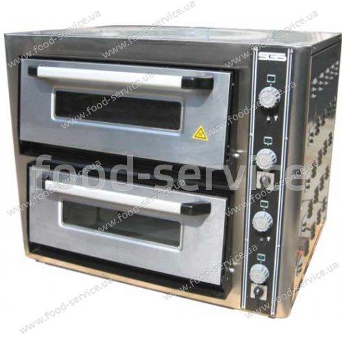 Печь электрическая для пиццы SGS РО 6262DE (с термометром)