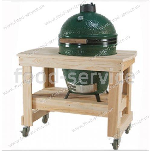 Деревянный компактный стол Y5TABC4 для грилей Big Green Egg Large