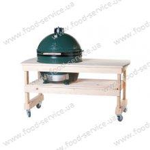 Деревянный длинный стол Y3TAB4 для грилей Big Green Egg Medium