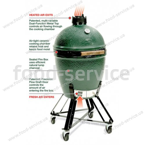 Гриль-печь Big Green Egg Medium
