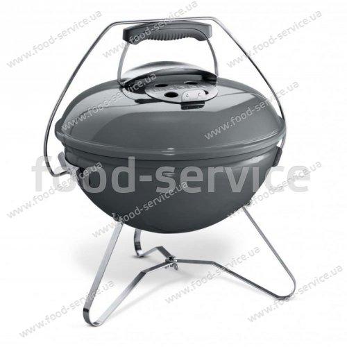 Гриль угольный портативный Weber Smokey Joe Premium серый