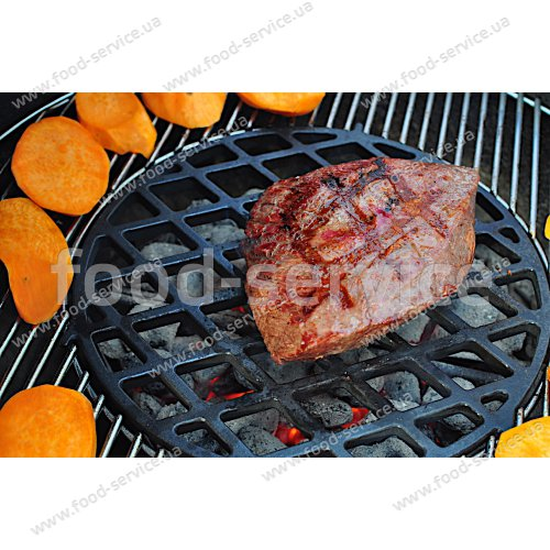 Решетка чугунная Gourmet BBQ System  Weber 8834