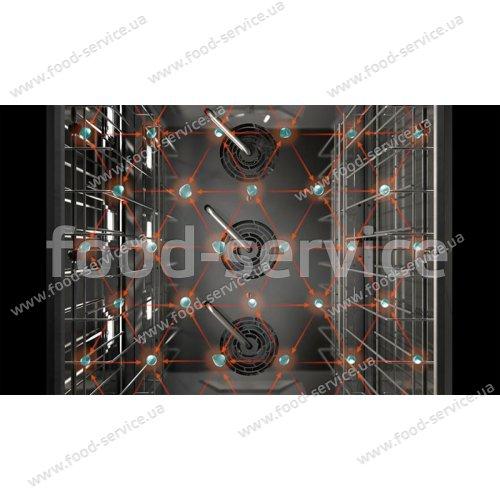 Печь пароконвекционная Piron PF9006 D