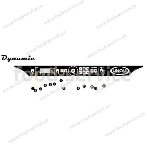 Печь конвекционная Unox XFT 185 Elena LineMiss Touch (с паром)