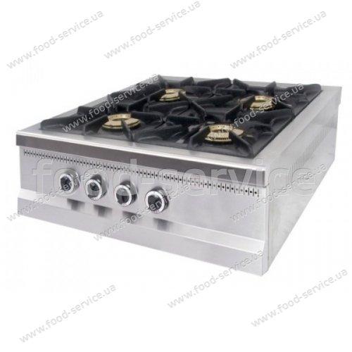 Плита газовая 4 конф. настольная PIMAK М015/4N с газконтролем