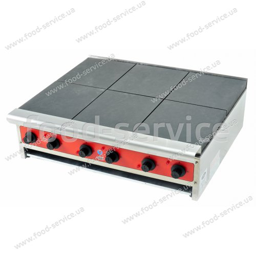 Плита электрическая 6-ти конфорочная настольная CustomHeat RE 6-36