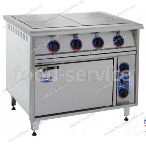 Плита 4-х конфорочная с духовым шкафом ПЕД-4F