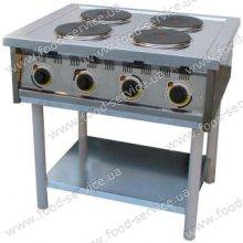 Плита эл. 4-х конфорочная без духовки ПЕ-4КР