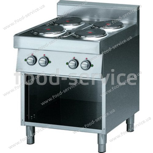 Плита электрическая 4-х зонная без духовки EFESTO CE874P
