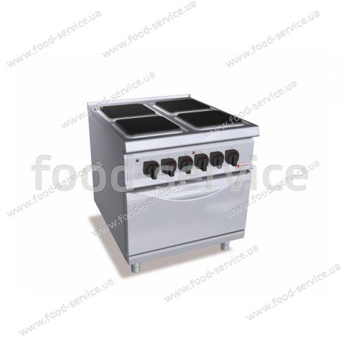 Плита эл. 4-х конфорочная Bertos SE9PQ4+FE