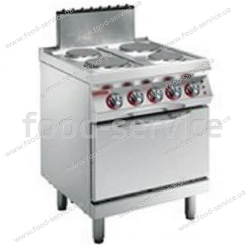 Плита электрическая Angelo Po 1G1PE1EV с конвекционной печью