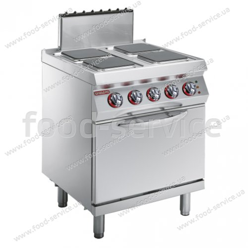 Плита электрическая Angelo Po 1G1PE2E с духовкой