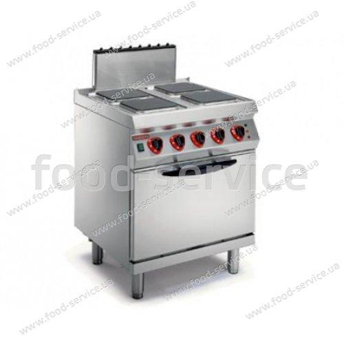 Плита электрическая Angelo Po 1G1PE2EV с конвекционной печью