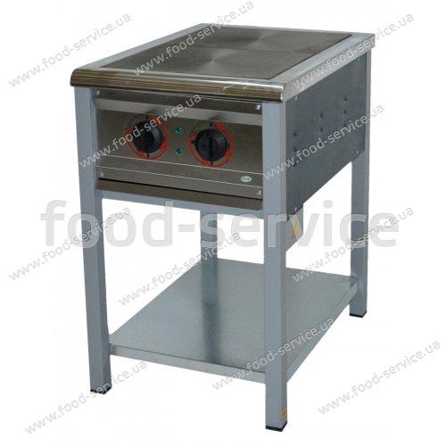 Плита 2-х конфорочная без духового шкафа ПЕ-2 Эконом