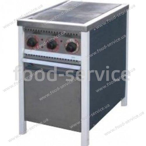 Плита 2-х конфорочная с духовым шкафом ПЕ-2Ш Эконом