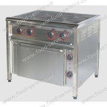 Плита 4-х конфорочная с духовым шкафом ПЕ-4Ш Н Эконом