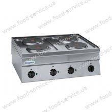 Плита 4 конфорочная с духовкой Tecnoinox PC70E/0
