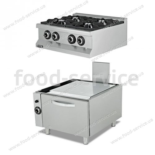 Плита газовая Empero EMP.7KG020+EMP.7FRG001