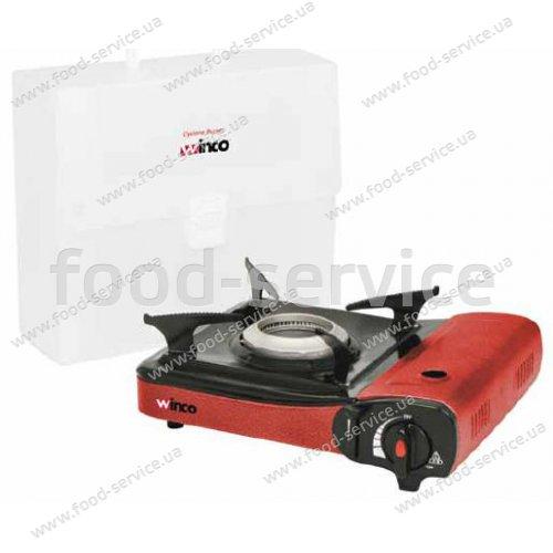 Плита газовая 1 конфорочная портативная PGS-1K Winco-Johnson Ros