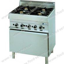 Плита газовая 4 конфорочная с духовкой MODULAR 65/70 CFG