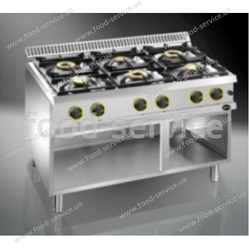 Плита газовая 6 конфорочная Apach APRG-117P