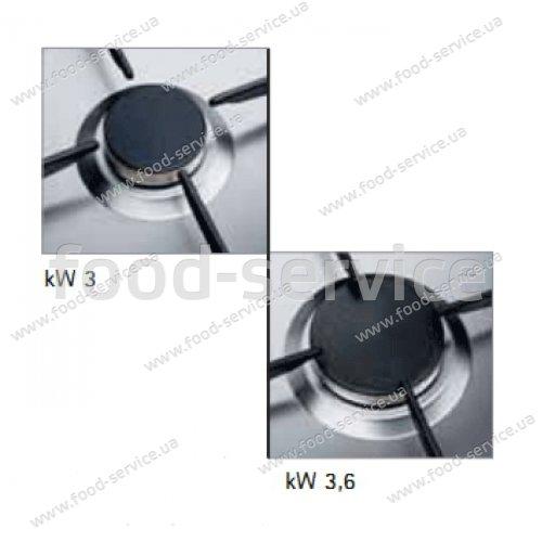 Плита газовая 6 конфорочная настольная Bertos G7F6BE