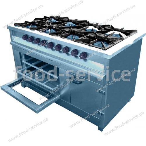 Плита газовая 8 конфорочная с духовым шкафом М 015/8 PIMAK