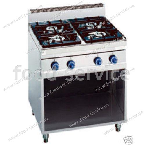 Плита газовая Bertos G6F4M+A4