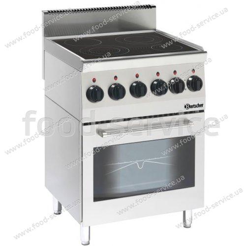 Индукционная плита с духовкой Bartscher Imbis 600 на 4 конф.