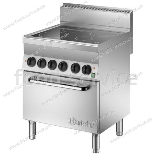 Индукционная плита с духовкой Bartscher Snak 650 на 4 конф.