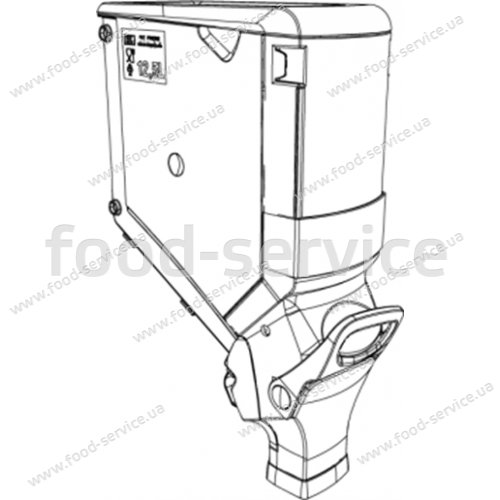 Диспенсер для сыпучих продуктов GB150-12,5 л без крепления