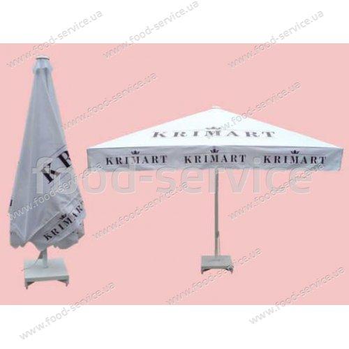 Зонт торговый 4х4м