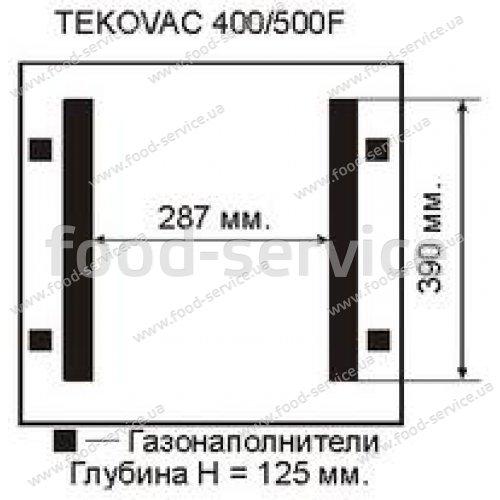 Вакуумная машина TEKOVAC 400/500 параллельная запайка
