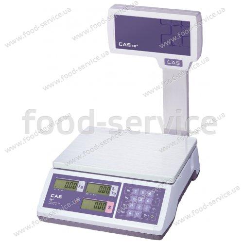 Весы торговые CAS ER JR-15 CBU