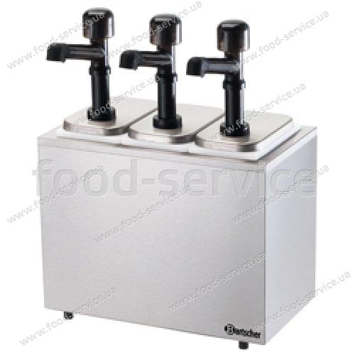 Дозатор для соусов на 3 помпы Bartscher 100323