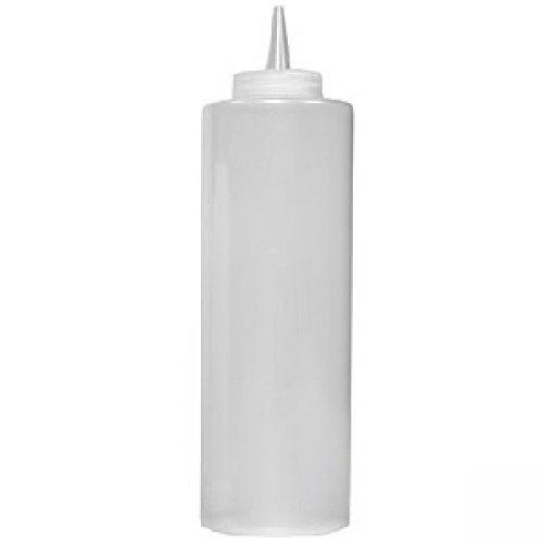 Дозатор для соусов 720 мл., белый, с колпачком