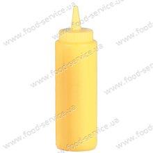 Дозатор для соусов 720 мл., желтый, с колпачком