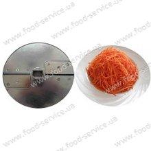 Диск для нарезки соломкой для МПО-1, морковка по-корейски