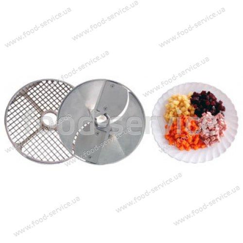 Набор (решетка+нож) для нарезки кубиками 10х10х10 для МПР и МПО
