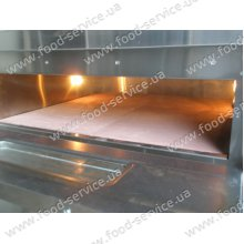 Камень для печи для пиццы 346х346х20 мм.