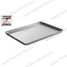 Поднос для кондитерских витрин 600x400x(H)20 серебр., Hendi 808511