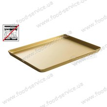 Поднос для кондитерских витрин 400x300x(H)20 золото., Hendi 808566